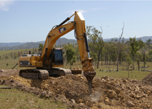 Earthmoving Excavator
